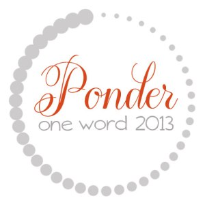 Thanks for my one word button from Melanie @ http://www.onlyabreath.com/